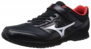 Mizuno Firefighting shoes U1GC1562 Black × Silver