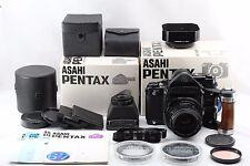 """EXC+++ in BOX"" Pentax 6x7 67 Body TTL Grip 105mm f/2.4 Lens WLF &Bonus #1897"