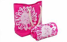 Beach Bags Womens Plus Towel Set Summer Tote Towels 100 Cotton 75 X150 Cms...