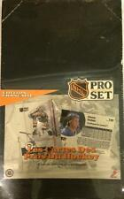 "1991-92 NHL PRO SET HOCKEY SERIES 1 ""FRENCH EDITION"" 36 PACK TRADING CARD BOX!"