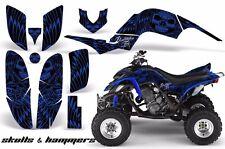 AMR Racing Yamaha Raptor660 Graphic Kit Wrap Quad Decals ATV 2001-2005 HISH BLUE