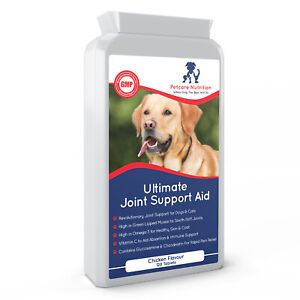 Dog Joint Supplement Tablet - Powerful Pain Relief for Arthritis & Stiff Joints
