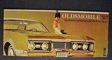 1967 Oldsmobile Small Brochure Cutlass 442 98 Delta 88 Delmont Toronado Wagon