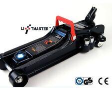 Liftmaster 2.25 Ton Low Profile Hydraulic Trolley Car Jack with LED & Nut Brace