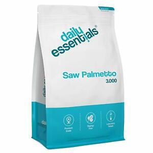 SAW PALMETTO 3000mg - 500 Tabletten Vegan - Sägepalme - Haarausfall Prostata