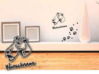 Tapisserie Fox terrier smooth Glatthaar-Foxterrier h183 wunschname patmol