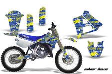Yamaha YZ250 Graphic Kit Wrap Dirt Bike Decals MX Stickers 1991-1992 SLVR HAZE Y