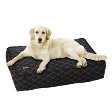 Karlie Black Medi Pet Bed | Large Orthopaedic Dog Bed Mattress 100cm x 65cm