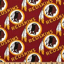 "NFL WASHINGTON REDSKINS FOOTBALL CURTAIN SET  116"" WIDE X 63""LONG"