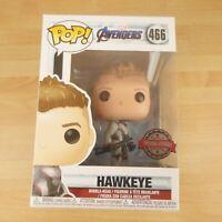 466 Funko Pop! Marvel Avengers Hawkeye Bobble Head Vinyl Figure Special Edition