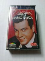 Christmas with Mario Lanza Cassette Tape 1987 RCA Victor New Factory Sealed