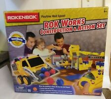 Rokenbok Rok Works Construction and Action Set New Rok Star Controller