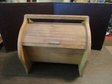 Vintage Wooden Sewing Box - Accordion Lid