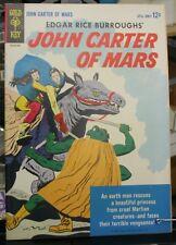 Edgar Rice Burrough's John Carter of Mars  Gold Key #1 VF/NM