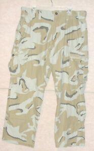 Men's desert camouflage cargo pants , size 38/32