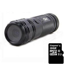 16GB HD 720P Metal Gun Hunting Camera Helmet Sports Action DVR Shooting Camera
