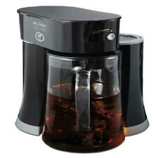 Iced Tea Maker Glass Pitcher Electric Automatic Machine Cafe Brewing System 2in1
