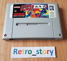 Super Nintendo SNES James Pond's Crazy Sports PAL