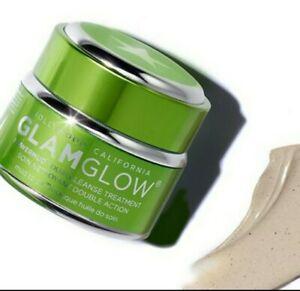Glamglow Powermud Dualcleansing Treatment 0.5 Oz/15 g New Sealed