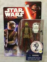 "Star Wars The Force Awakens 3.75"" Resistance Trooper Figure Disney Hasbro 2015"