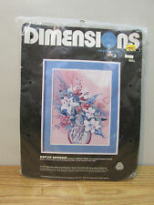 DIMENSIONS NEEDLEPOINT DAYLILY BOUQUET 2335