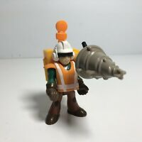 Fisher Price Imaginext Figure City Construction Worker