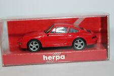 Porsche 911 ( 993 )  Carrera S4  rot  Herpa  1:87