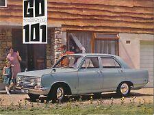 Vauxhall Victor FC 101 1966-67 Original UK Foldout Sales Brochure No. V1712