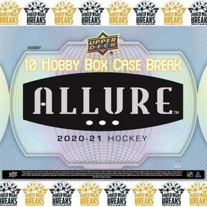 MINNESOTA WILD - 2021 Upper Deck ALLURE Hockey Team Case Break (10 box) #1
