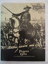 SPI Strategy &Tactics #49 Frederick the Great Campaigns - New and UNPUNCHED