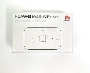 Huawei E5573Bs-322 4G Mobile WiFi Hotspot Router bis zu 150 MBit/s Weiß