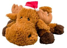 Goodboy  40cm Giant Moose Christmas Soft Plush Dog Pup Toy Squeaky 10109 Xmas