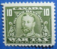1915 10c CANADA WAR TAX REVENUE VD # FWT13 B # 13 UNUSED CS14584