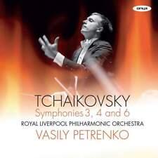 [BRAND NEW] 2CD: TCHAIKOVSKY: SYMPHONIES 3, 4 AND 6: RLPO: PETRENKO