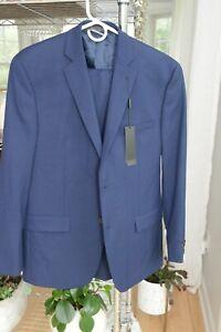 Marc New York Men's Classic-Fit 2-Piece Suit & Pants Blue 38S 29W 30L