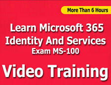 Microsoft 365 Identity And Services Exam MS-100 Cert Video Training Tutorial CBT