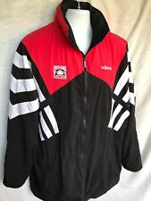 Vintage Single Stitch Adidas Indiana Soccer Color Block Windbreaker Jacket Large