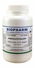 Phenolphthalein Powder Certified ACS Reagent Grade 100 grams