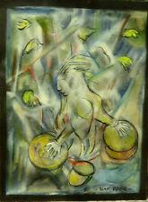 "Ivan Rane 18"" by 24"" Oil on Canvas ""Tambali Man"" 2000"