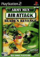 Army Men Air Attack Blade's Revenge PS2 (Playstation 2)-Free Postage - UK Seller
