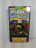 Muppet Sing Along VHS Tape Muppet Treasure Island 1996