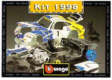 GSK KATALOG BBURAGO 1998 KITS !  DIN A5, .IN FARBE, MODELLE 7001-7064/5501-5199