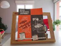 REVUE TECHNIQUE AUTOMOBILE N°207 JUILLET 1963 BE/TBE PANHARD SIMCA 1000