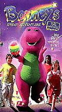 Barney's Great Adventure The Movie VHS Magic Egg Farm Children Imagination Video