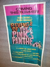 REVENGE of the PINK PANTHER - Mini MOVIE POSTER - 1981