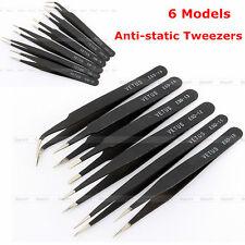 ESD 10-15 Anti-statique Sécurité Brucelles Pincette Inox Tweezer Maintenance Set