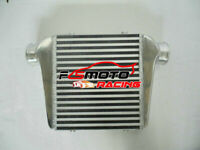 "Universal Front Mount Aluminum Turbo Intercooler in/outlet 76mm 3"" 280x300x76mm"