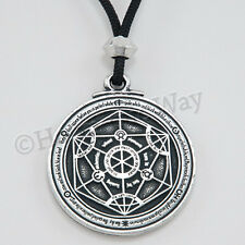 ALCHEMICAL Magic of Alchemy Circle Transformation Pendant Necklace