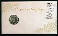 Australia 2015 On Your Wedding Day $1 Coin PNC Cover # 3414/5000