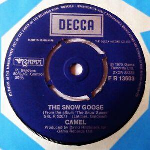 CAMEL The Snow Goose VINYL 45 UK Decca Records 1975 1st Press NM Prog Rock